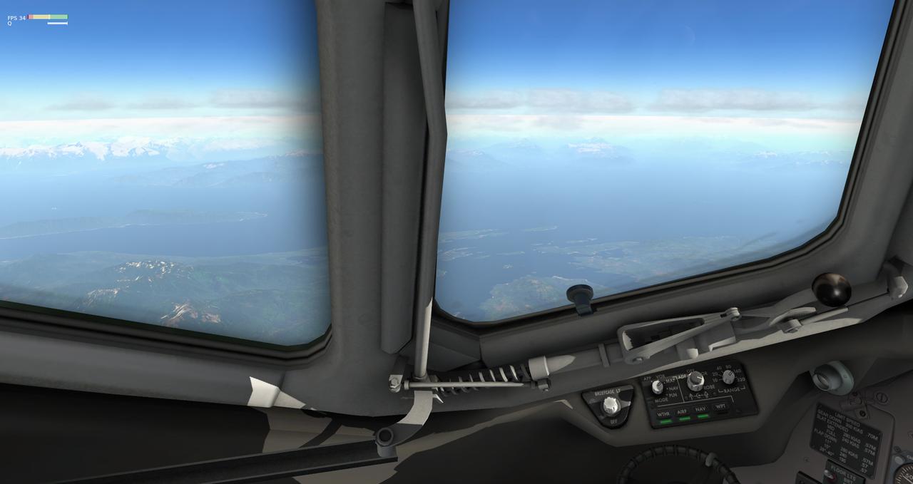 Mit der Default MD-82 von Anchorage nach Ketchikan 33962379mk