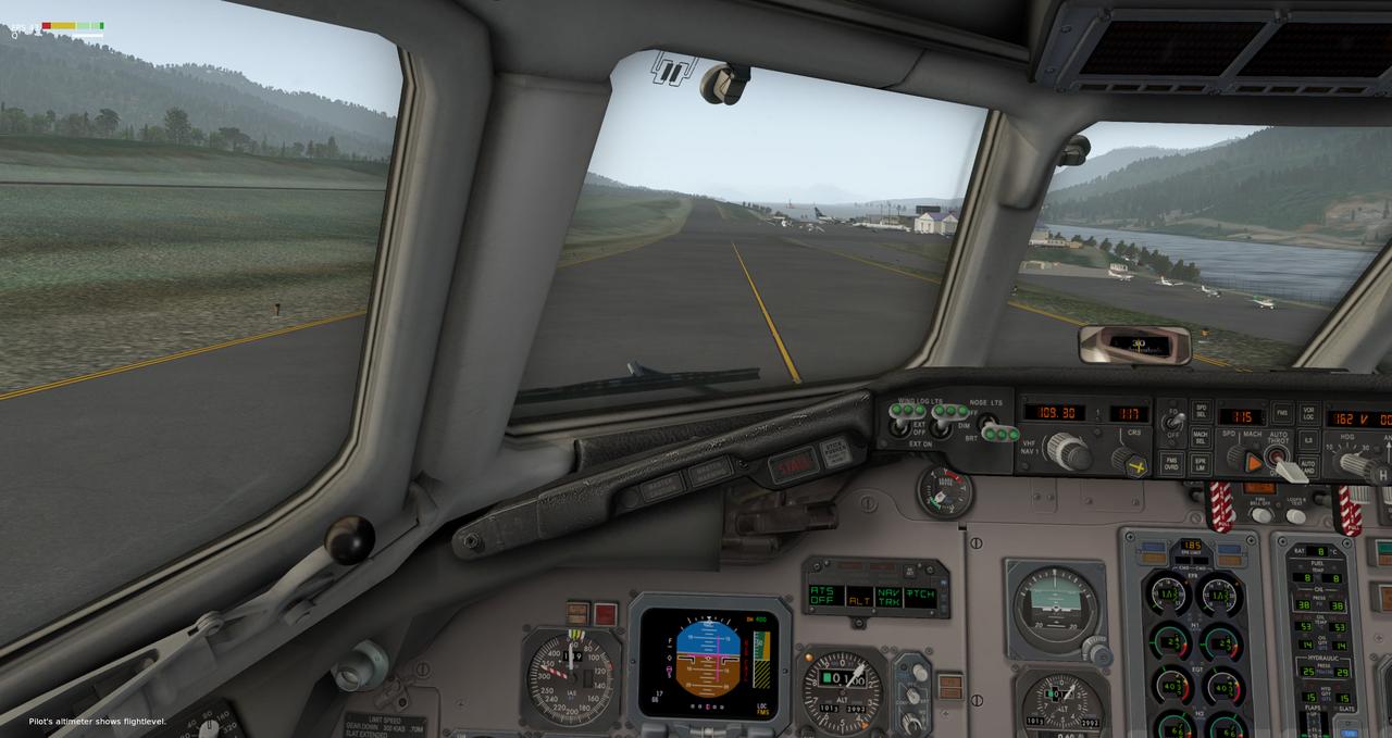 Mit der Default MD-82 von Anchorage nach Ketchikan 33962415hz