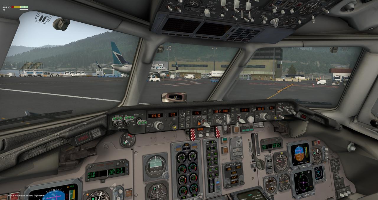 Mit der Default MD-82 von Anchorage nach Ketchikan 33962422vh