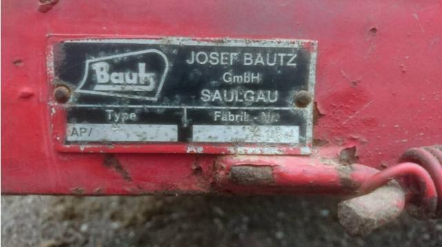 Bautz niskotlačna balirka - presa 33998383pq