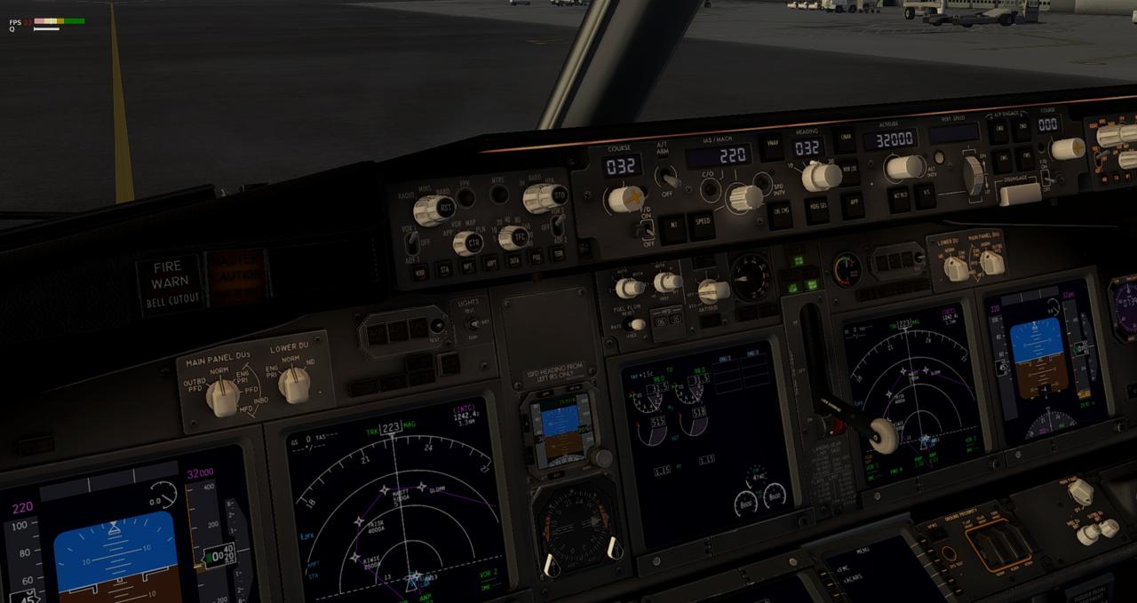 Mit der 737-800 Zibo von New York nach Chicago 34245417zl