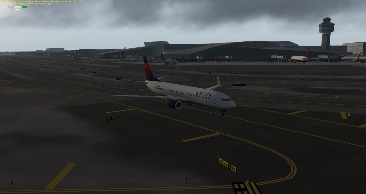 Mit der 737-800 Zibo von New York nach Chicago 34245421zf