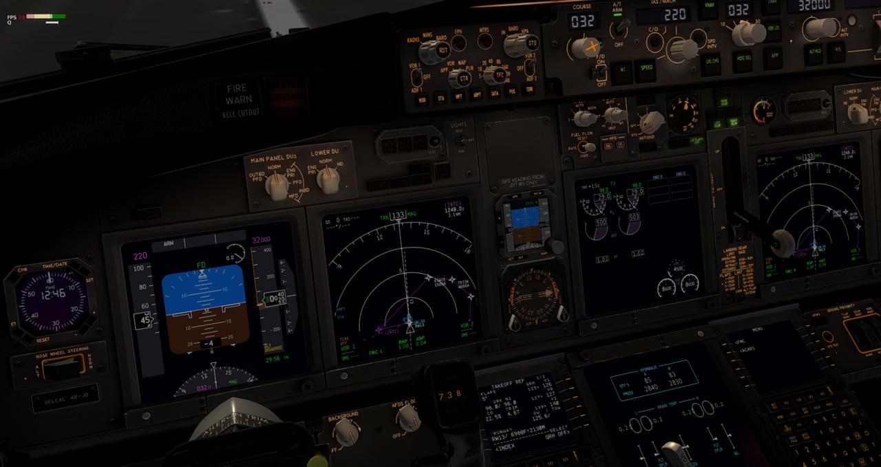 Mit der 737-800 Zibo von New York nach Chicago 34245424in