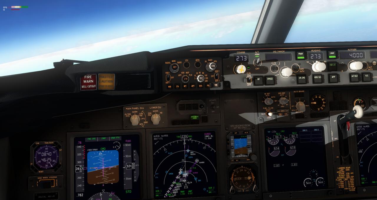 Mit der 737-800 Zibo von New York nach Chicago 34245438iy