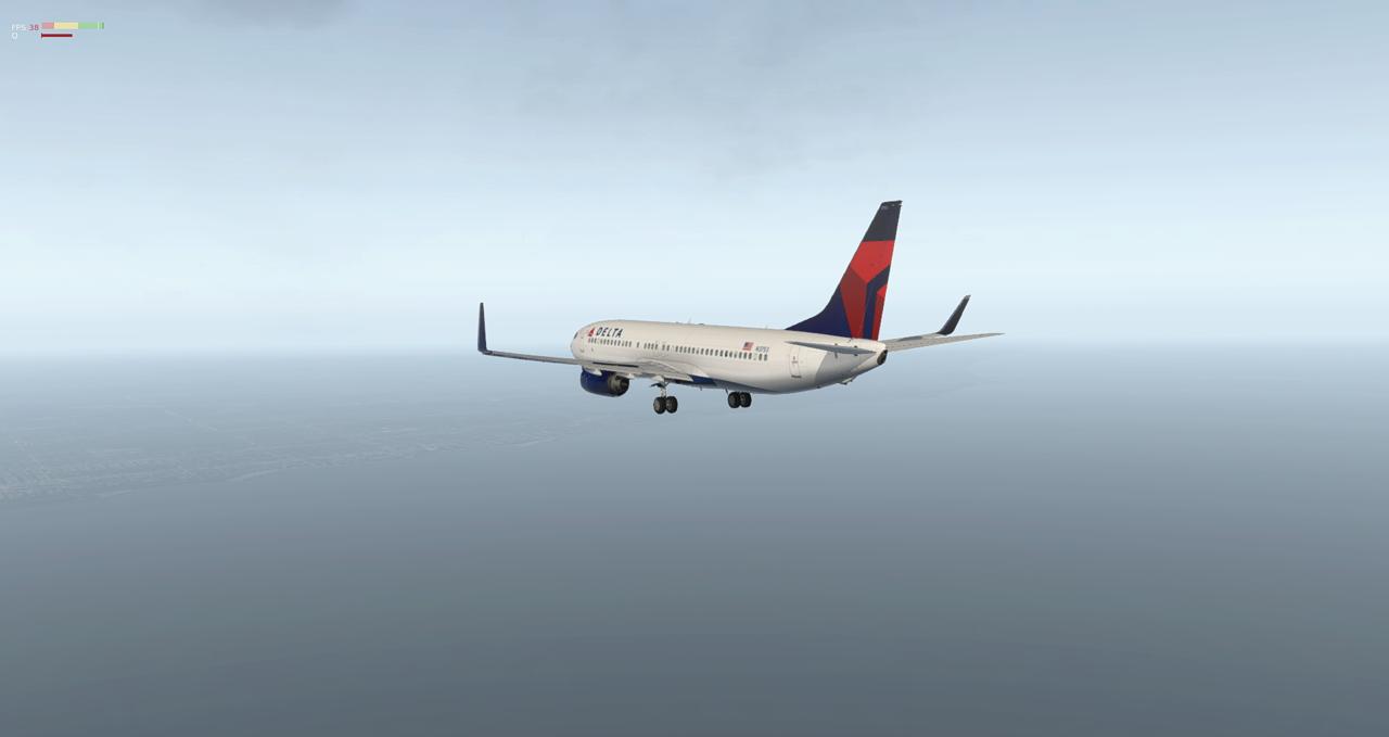Mit der 737-800 Zibo von New York nach Chicago 34245440uy