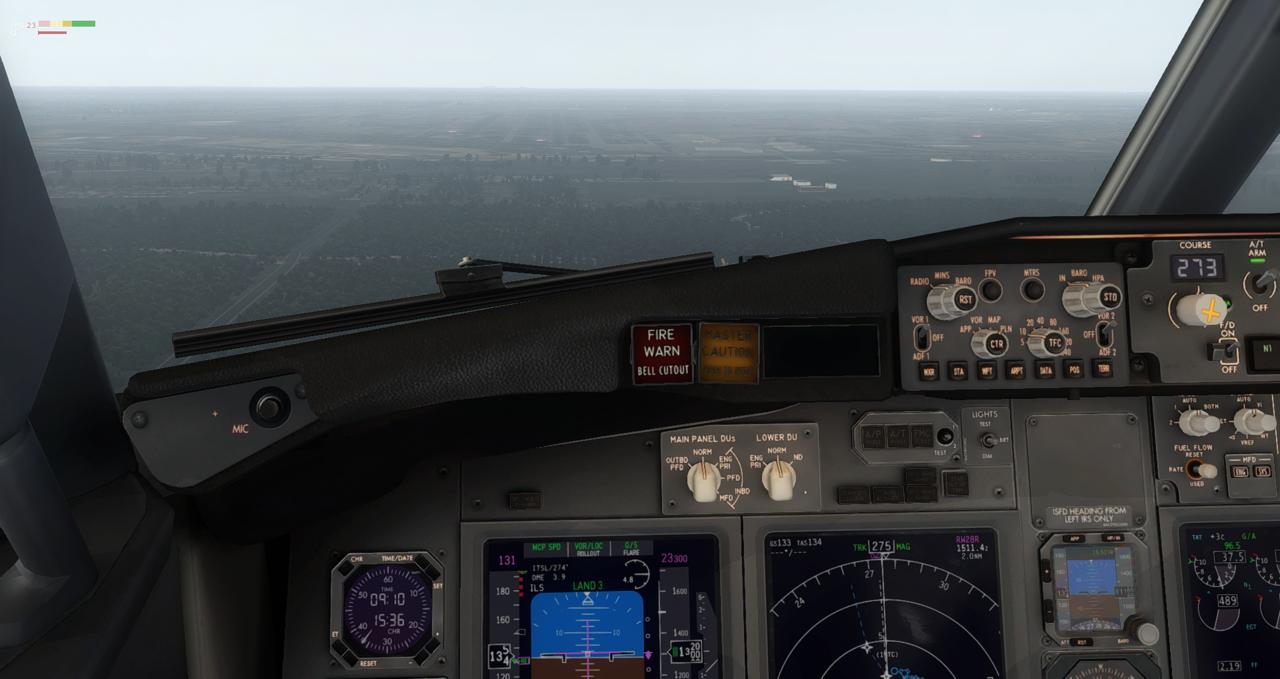 Mit der 737-800 Zibo von New York nach Chicago 34245449ic