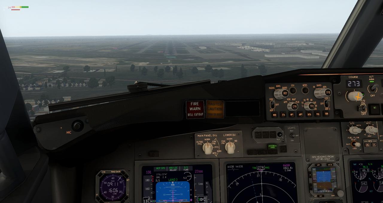 Mit der 737-800 Zibo von New York nach Chicago 34245455cr