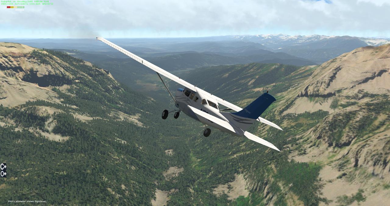Testflug North Wyoming 35350383xg