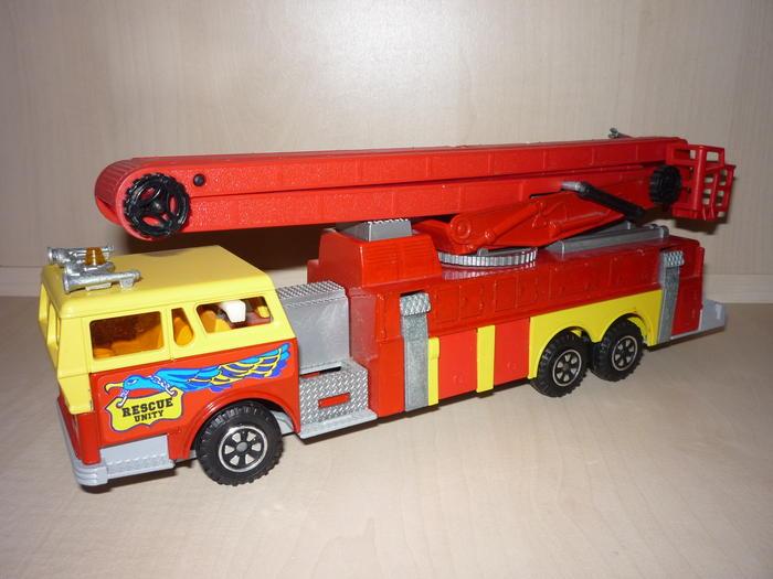 N°3091 1972`Ward La France Incendie Nacelle 5938766