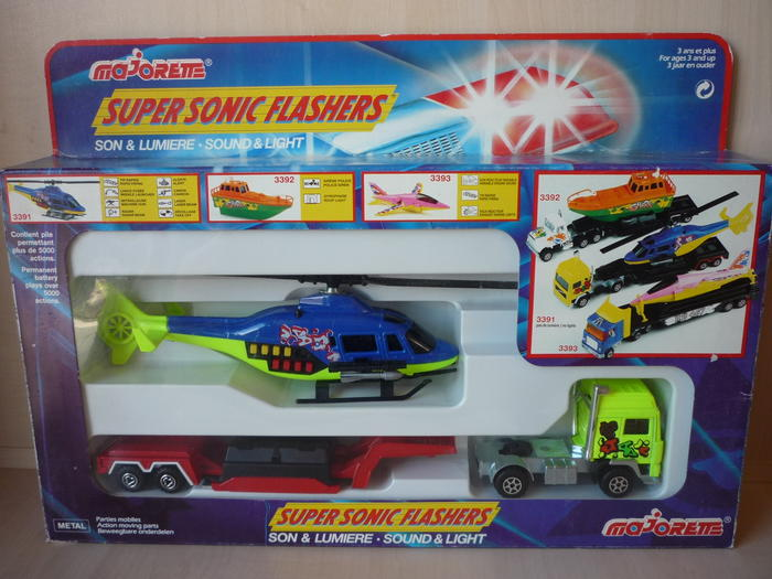 "N°3391 Plane Transporter ""Super Sonic Flashers"" 6311938qlw"