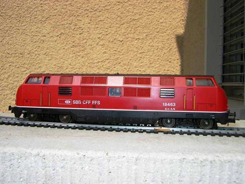 SBB Diesellokomotiven 6972182ait