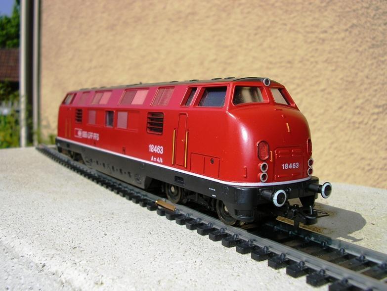 SBB Diesellokomotiven 6972185vym