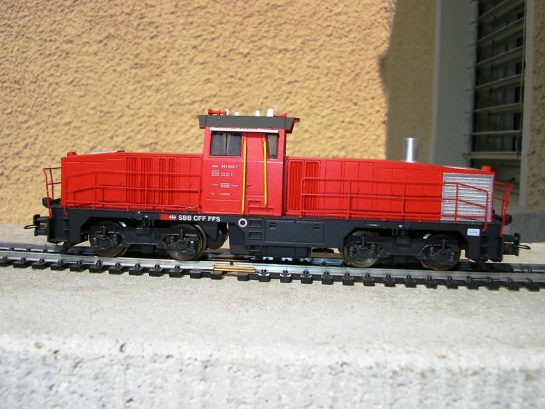 SBB Diesellokomotiven 6973051vyh