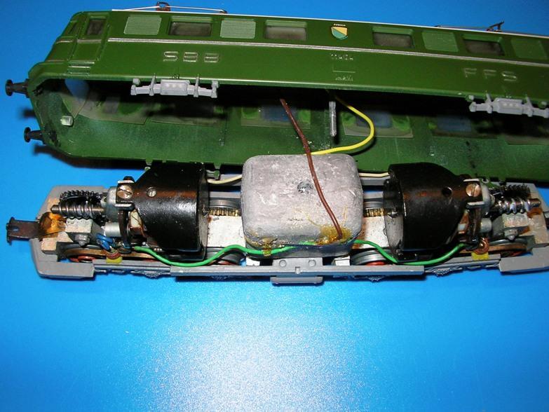 Kleinbahn Ae 6/6 11404 SBB 6998109cdx