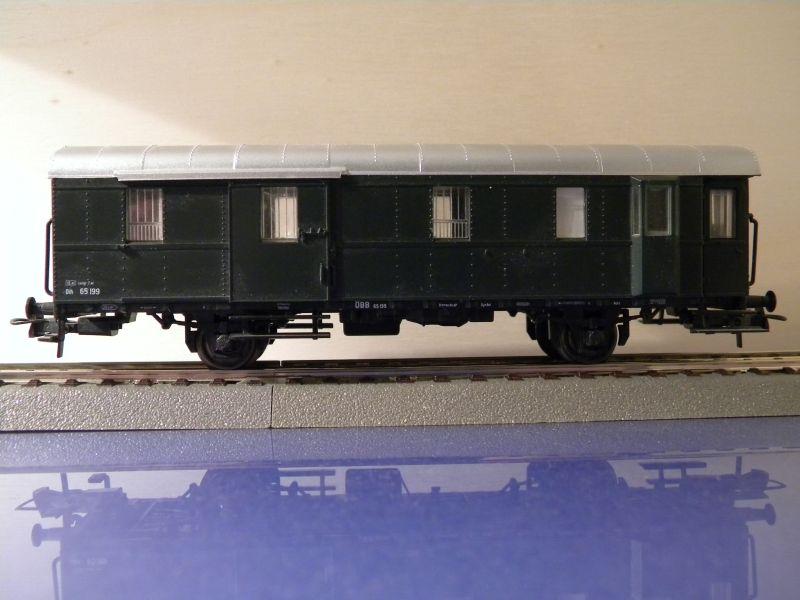 Sachsenmodelle: Donnerbüchse + Packwagen der ÖBB 7137620xik