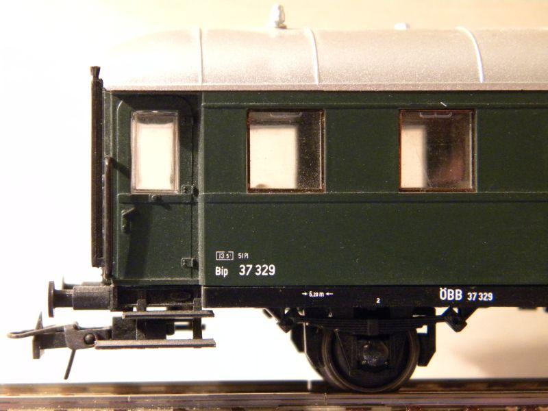 Sachsenmodelle: Donnerbüchse + Packwagen der ÖBB 7137627nzm