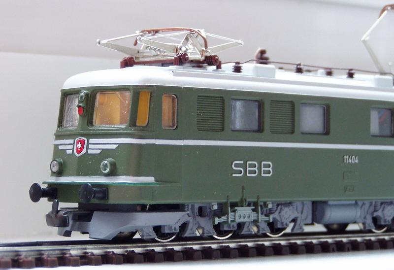 Kleinbahn Ae 6/6 11404 SBB 7138802gns