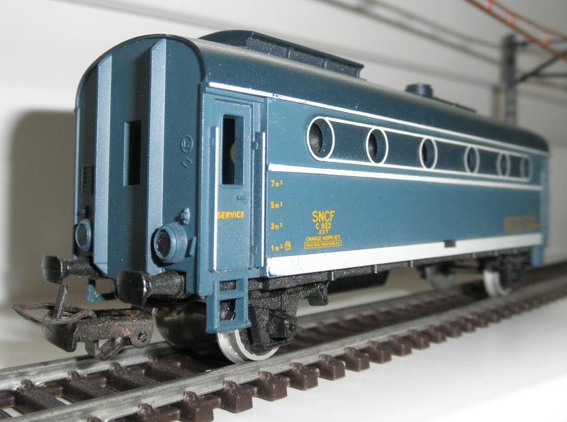Jouef , Heizwagen der SNCF 7684270xic