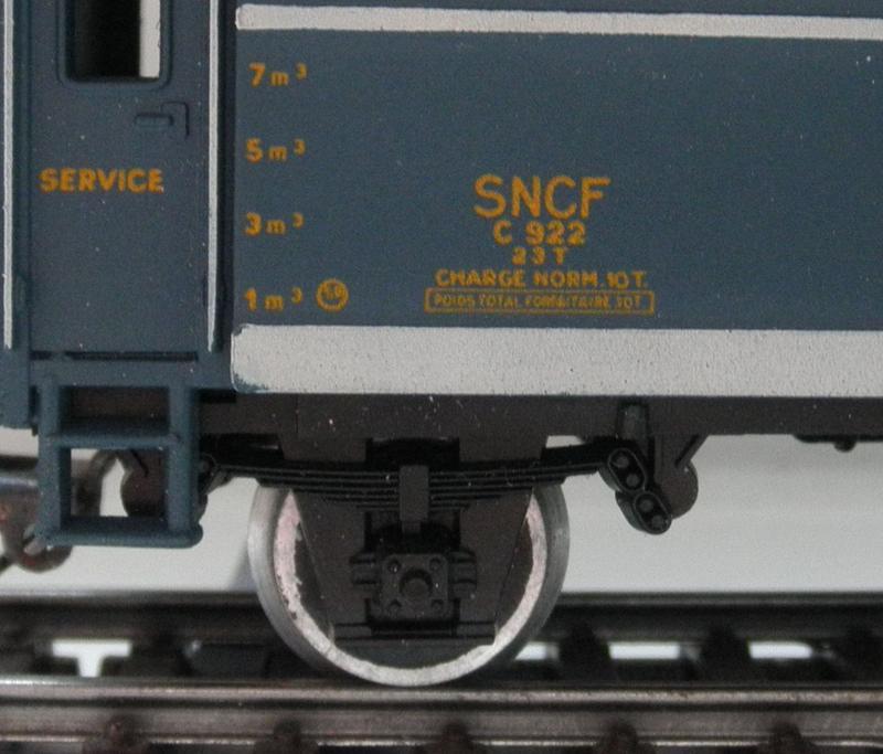 Jouef , Heizwagen der SNCF 7686921fzs