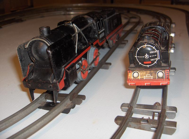 Größenvergleich Spur 0 mit Spur S 7706052ygq