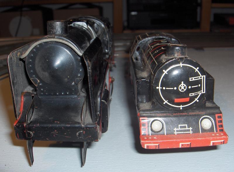 Größenvergleich Spur 0 mit Spur S 7706053uap