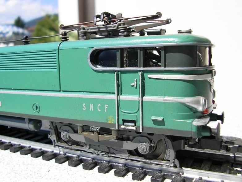 SNCF BB 9283 grün 7820890elr