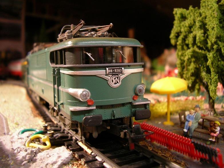 SNCF BB 9283 grün 7820895ywr