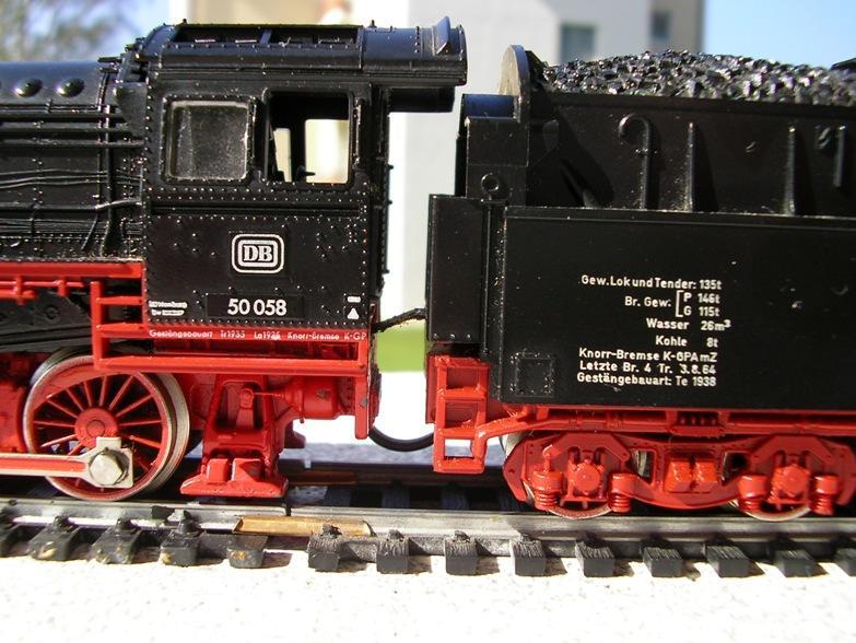 DB BR 50 mit Kabinentender, Artikel 4175 8368952snh