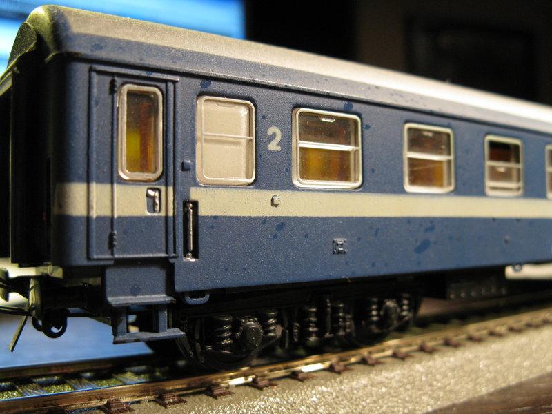 Schnellzugwagen der DDR Fa.Schicht 8698776usc