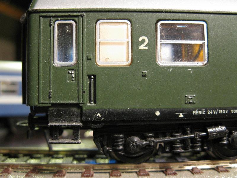 Schnellzugwagen der DDR Fa.Schicht 8698793jxx