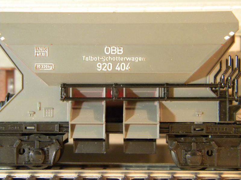 Kleinbahn 361 Schotterwagen ÖBB 8724762jos