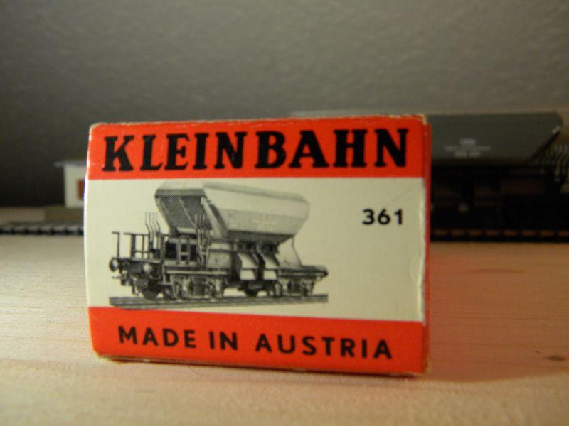 Kleinbahn 361 Schotterwagen ÖBB 8724763mmh
