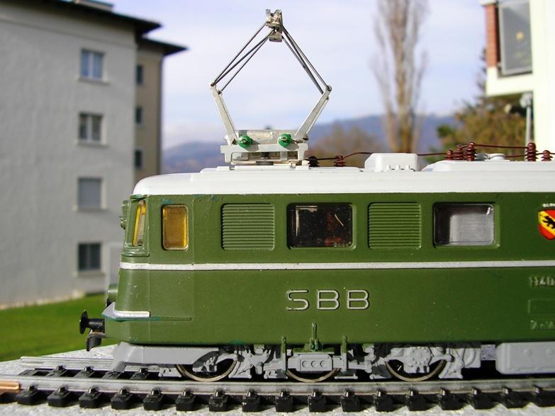 Kleinbahn Ae 6/6 11404 SBB 8855641ynr