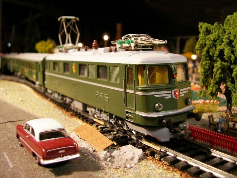Kleinbahn Ae 6/6 11404 SBB 8855694sjh
