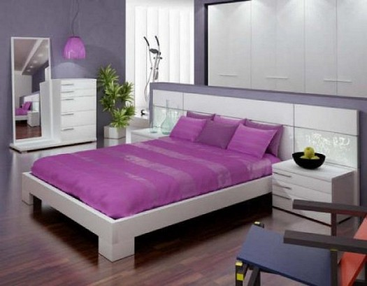 غرف نوم بدرجات البنفسجى 13638791942