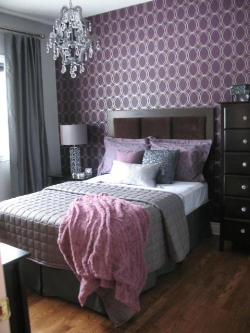 غرف نوم بدرجات البنفسجى 13638791943