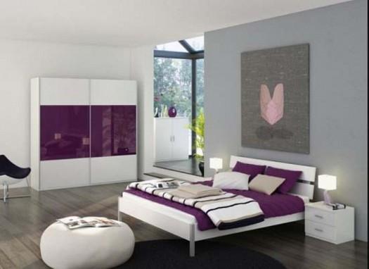 غرف نوم بدرجات البنفسجى 13638791954