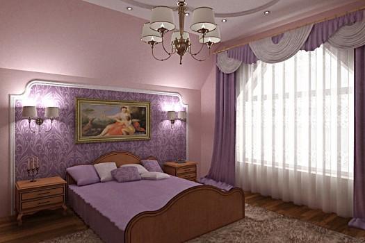 غرف نوم بدرجات البنفسجى 13638793961