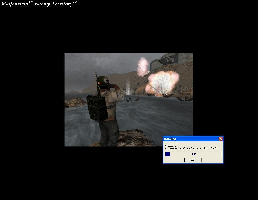 Wolfenstein - Enemy Territory Gnyyvizizz0z