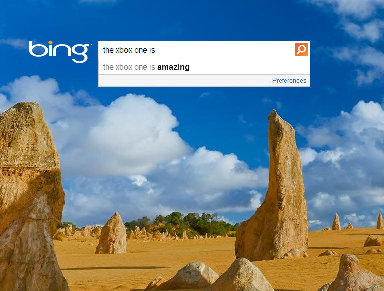 come see what does bing thinks of the xbox in opposite to google Odhml0qgzcyn