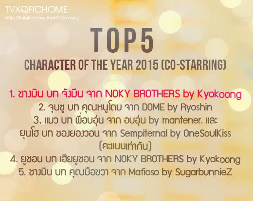 ประกาศผลละเอียด TVXQ!FICHOME AWARD 2015 และ BEST FICTION READER 2015 2bq45