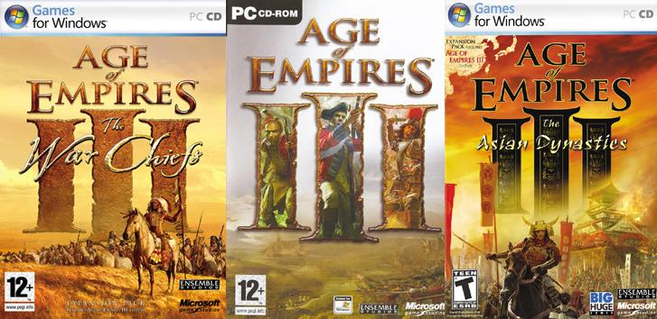 [PC] Age of Empires III Collection Full (SaveUFile) 82xd1
