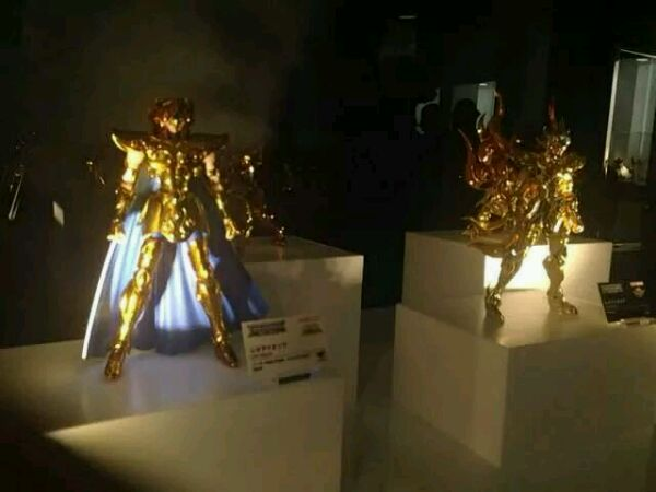 [Myth Cloth EX] Soul of Gold - Leo Aiolia gold Cloth 7cta1