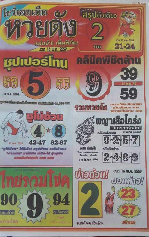 16/5/2016 Thai Lottery Tips - Page 15 13124923_1575735416089643_4609960567574079192_n