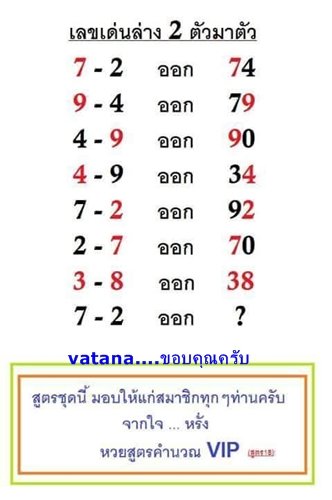 2.5.2015 All About Thai Lotto Tips 10420343_819677598080974_3143455837274291848_n