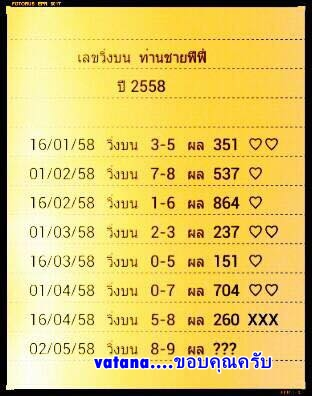 2.5.2015 All About Thai Lotto Tips 10409435_1580001478926200_2691820639331076059_n