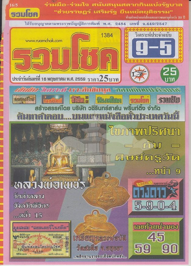 16/5/2016 Thai Lottery Tips - Page 3 13087933_1035077863207742_8620000415698508361_n