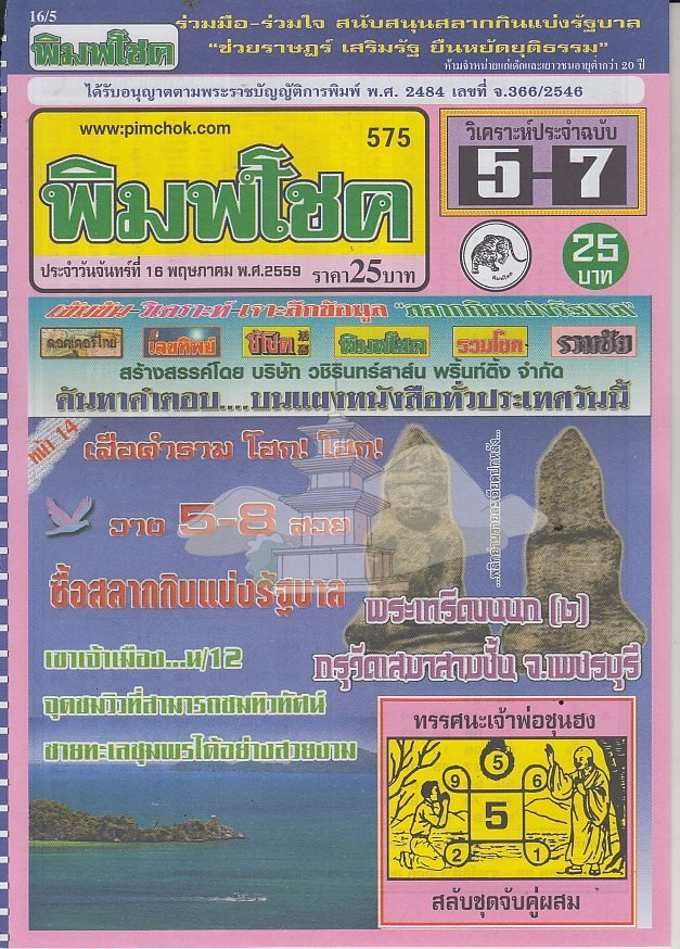 16/5/2016 Thai Lottery Tips - Page 4 13124958_1035076989874496_830749690872064925_n