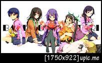 [pic] รูป bakemonogatari 0206229320araragi_koyomi20bakemonogatari20hachikuji_mayoi20hanekawa_tsubasa20kanbaru_suruga20oshino_shinobu20sengoku_nadeko20senjougahara_hitagi