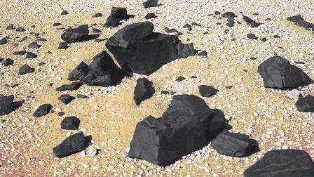 Метеоритното поле в Либийската пустиня. Image-1245_564ECCF9